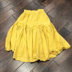 Chicwish Skirts - Chicwish Brightening Your Beauty Midi Skirt